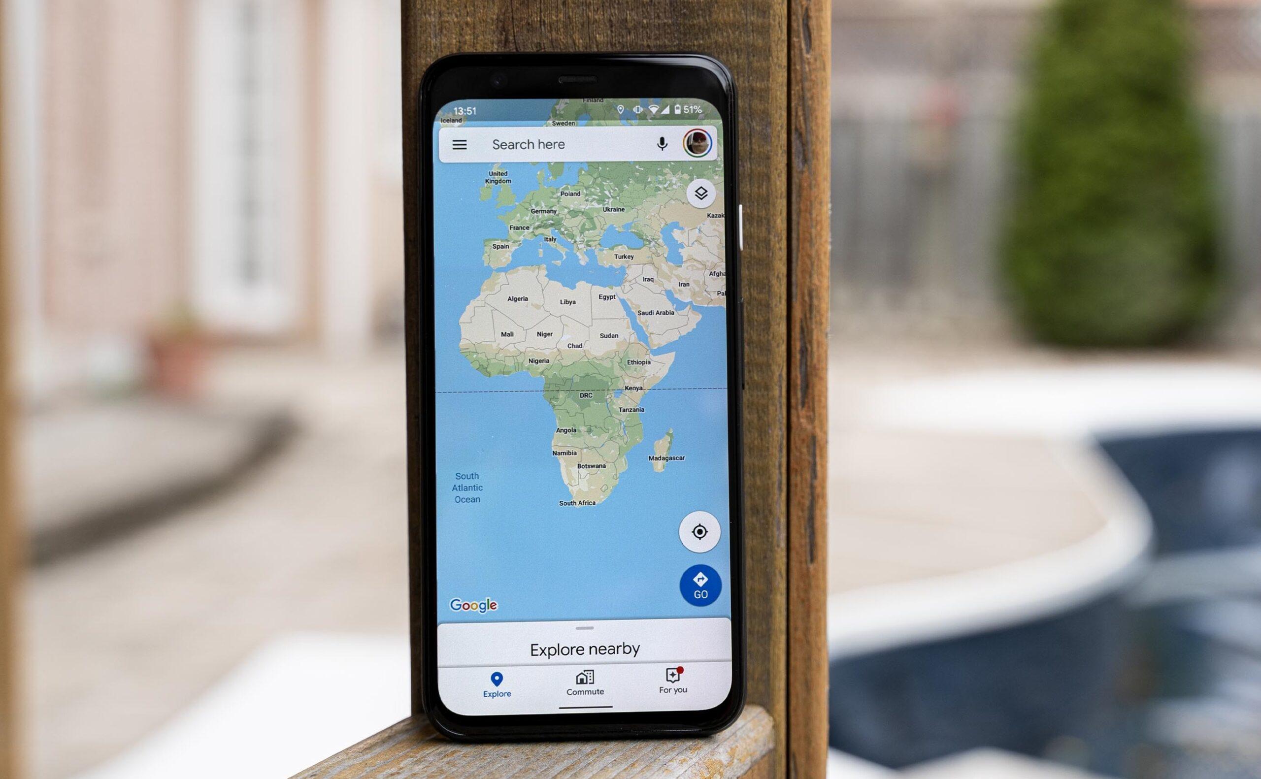 google maps comments